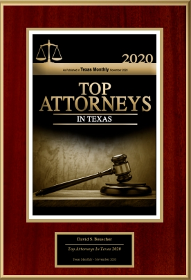 Top Attorneys in Texas 2020 badge